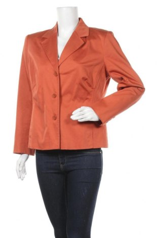 Дамско сако Collection Chalice, Размер L, Цвят Оранжев, 97% памук, 3% еластан, Цена 7,35лв.