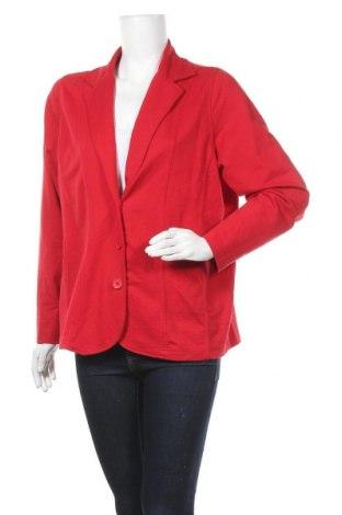 Γυναικείο σακάκι Collection L, Μέγεθος XL, Χρώμα Κόκκινο, 65% πολυεστέρας, 35% βαμβάκι, Τιμή 6,82€