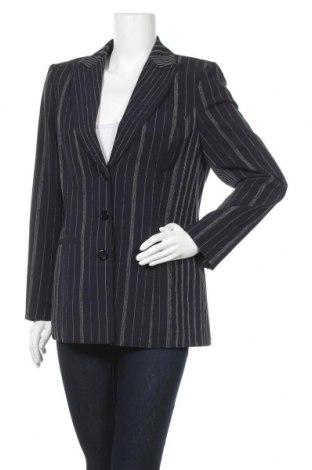 Дамско сако Elegance, Размер M, Цвят Син, 50% полиестер, 41% вълна, 5% вискоза, 4% еластан, Цена 5,80лв.