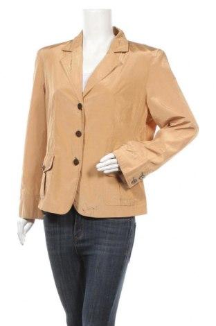Дамско сако Fabiani, Размер XL, Цвят Кафяв, 82% полиестер, 15% памук, 3% метални нишки, Цена 6,56лв.