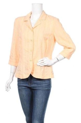 Дамско сако Fabiani, Размер L, Цвят Оранжев, 63% вискоза, 37% полиестер, Цена 22,31лв.