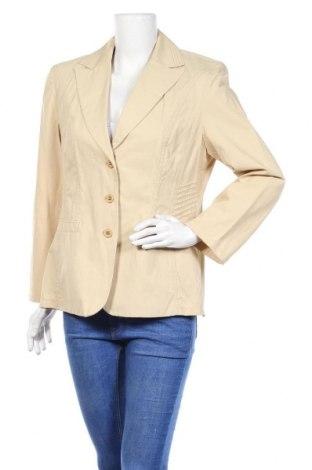 Дамско сако Fabiani, Размер L, Цвят Бежов, 52% памук, 48% полиамид, Цена 6,83лв.