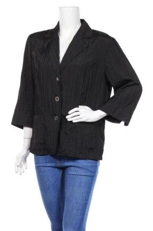 Дамско сако Fabiani, Размер XL, Цвят Черен, Полиестер, Цена 6,04лв.