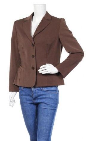 Дамско сако Fabiani, Размер L, Цвят Кафяв, 97% полиестер, 3% еластан, Цена 6,83лв.