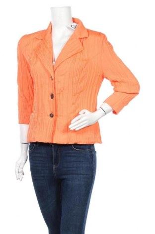 Дамско сако Fabiani, Размер M, Цвят Оранжев, Полиестер, Цена 25,52лв.