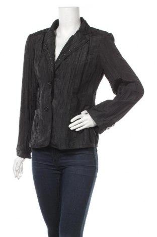 Дамско сако Fabiani, Размер L, Цвят Черен, 55% полиестер, 45% полиамид, Цена 5,88лв.