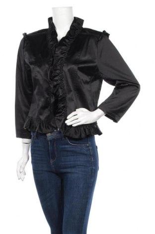 Γυναικείο σακάκι Flash Woman, Μέγεθος L, Χρώμα Μαύρο, 50% πολυεστέρας, 46% βαμβάκι, 4% ελαστάνη, Τιμή 3,39€