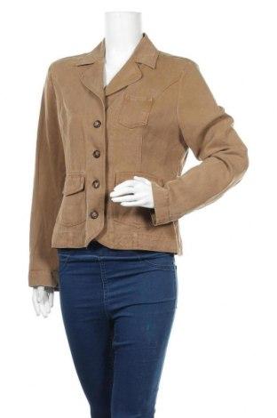Дамско сако Franco Callegari, Размер M, Цвят Кафяв, Лиосел, Цена 7,09лв.