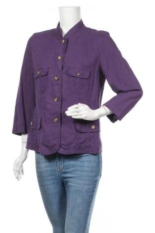 Дамско сако Franco Callegari, Размер M, Цвят Лилав, Цена 6,04лв.