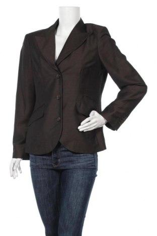 Дамско сако Franco Callegari, Размер L, Цвят Кафяв, 55% вискоза, 45% вълна, Цена 8,19лв.