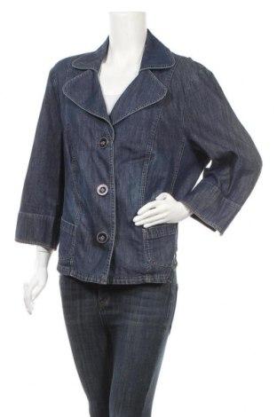 Γυναικείο σακάκι G.W., Μέγεθος XXL, Χρώμα Μπλέ, 98% βαμβάκι, 2% ελαστάνη, Τιμή 16,37€