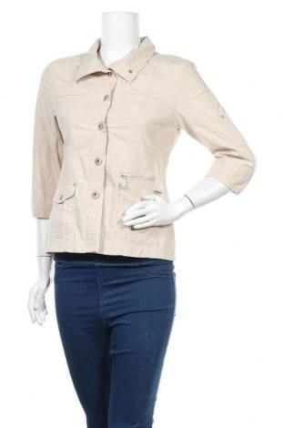 Дамско сако G.W., Размер S, Цвят Бежов, Цена 5,45лв.