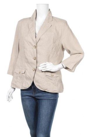 Γυναικείο σακάκι G.W., Μέγεθος L, Χρώμα  Μπέζ, Τιμή 15,68€