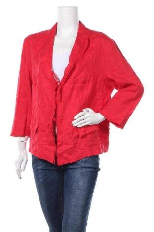 Γυναικείο σακάκι G.W., Μέγεθος XL, Χρώμα Κόκκινο, Τιμή 8,64€