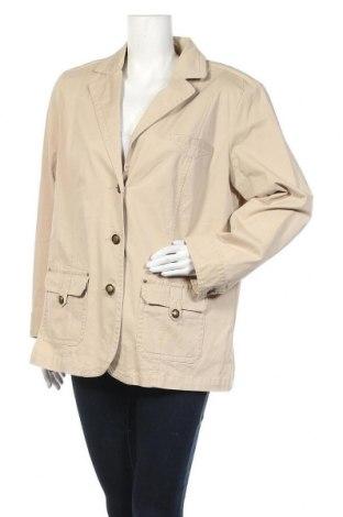 Дамско сако Grandiosa, Размер XXL, Цвят Бежов, 97% памук, 3% еластан, Цена 7,00лв.