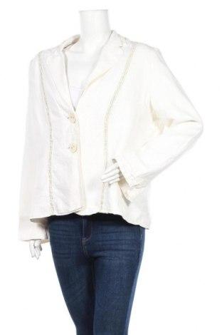 Дамско сако Green House, Размер XL, Цвят Бял, 55% лен, 45% памук, Цена 22,05лв.