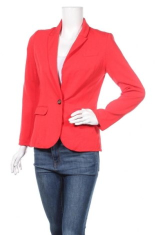 Sacou de femei H&M, Mărime S, Culoare Roșu, 97% viscoză, 3% elastan, Preț 86,21 Lei