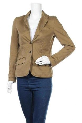 Дамско сако H&M L.O.G.G., Размер S, Цвят Зелен, 98% памук, 2% еластан, Цена 22,31лв.