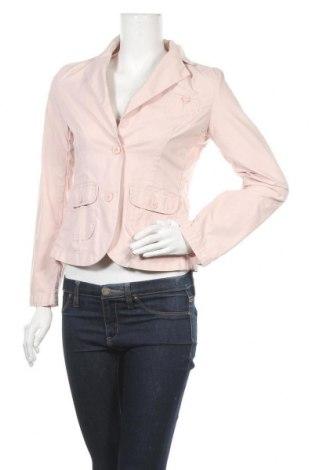 Дамско сако H&M L.O.G.G., Размер S, Цвят Розов, Памук, Цена 20,53лв.