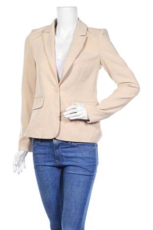 Γυναικείο σακάκι Hallhuber, Μέγεθος S, Χρώμα  Μπέζ, 62% πολυεστέρας, 33% βισκόζη, 5% ελαστάνη, Τιμή 19,87€