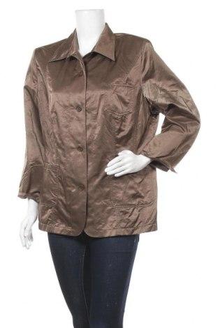 Дамско сако Hirsch, Размер XL, Цвят Кафяв, 67% памук, 33% полиамид, Цена 6,04лв.