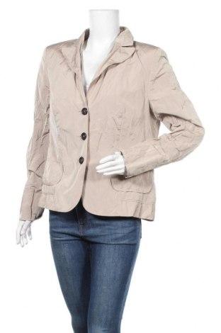 Дамско сако Hirsch, Размер XL, Цвят Бежов, 90% полиестер, 10% метални нишки, Цена 7,09лв.