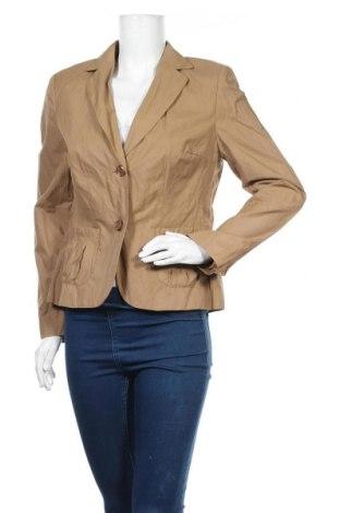 Дамско сако Hirsch, Размер M, Цвят Кафяв, 50% полиамид, 43% памук, 7% метални нишки, Цена 13,65лв.