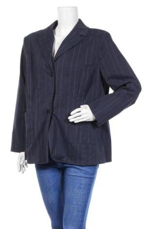 Γυναικείο σακάκι Infinity, Μέγεθος XXL, Χρώμα Μπλέ, 69% βαμβάκι, 25% πολυαμίδη, 5% ελαστάνη, 1% πολυεστέρας, Τιμή 17,66€