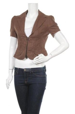 Дамско сако JAG, Размер S, Цвят Кафяв, 55% лен, 45% памук, Цена 8,14лв.