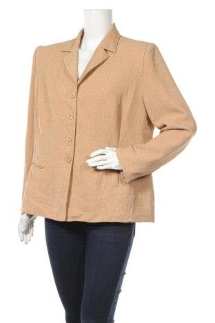 Дамско сако Jasper Conran, Размер XL, Цвят Бежов, Полиестер, Цена 6,30лв.
