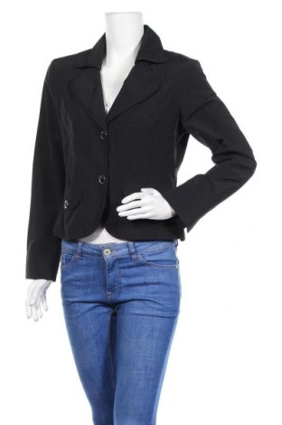 Γυναικείο σακάκι Just For You, Μέγεθος M, Χρώμα Μαύρο, 65% βαμβάκι, 35% πολυεστέρας, Τιμή 14,94€