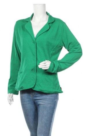 Γυναικείο σακάκι Kappa, Μέγεθος XL, Χρώμα Πράσινο, 100% βαμβάκι, Τιμή 13,58€