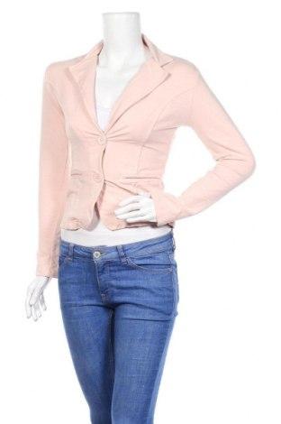 Дамско сако Kei-Bix-Kei, Размер S, Цвят Розов, 95% памук, 5% еластан, Цена 6,56лв.