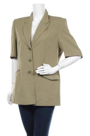 Дамско сако Laura Lebek, Размер L, Цвят Зелен, Полиестер, Цена 7,35лв.