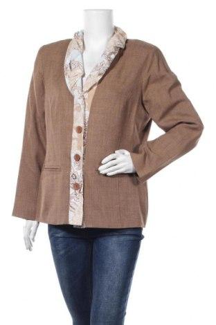 Γυναικείο σακάκι Malva, Μέγεθος M, Χρώμα Καφέ, Πολυεστέρας, Τιμή 4,97€