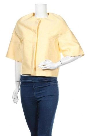 Γυναικείο σακάκι Max Mara Studio, Μέγεθος XXS, Χρώμα Κίτρινο, 81% πολυεστέρας, 19% μετάξι, Τιμή 72,95€