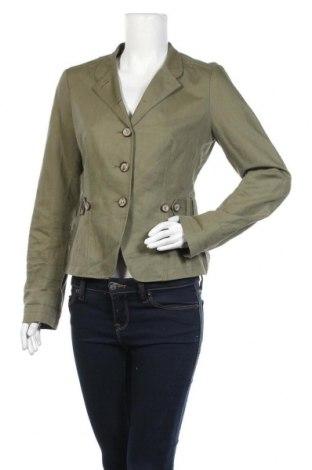 Γυναικείο σακάκι Mexx, Μέγεθος L, Χρώμα Πράσινο, 55% λινό, 45% βαμβάκι, Τιμή 5,68€