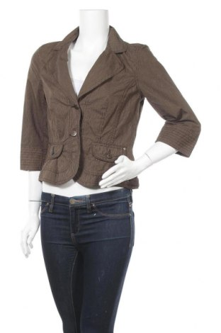 Γυναικείο σακάκι Miss Etam, Μέγεθος M, Χρώμα  Μπέζ, Βαμβάκι, Τιμή 3,91€