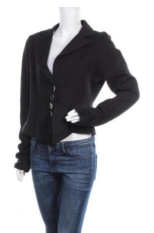 Γυναικείο σακάκι Miss Etam, Μέγεθος M, Χρώμα Μαύρο, 75% βαμβάκι, 16% πολυεστέρας, 9% άλλα υλικά, Τιμή 6,14€