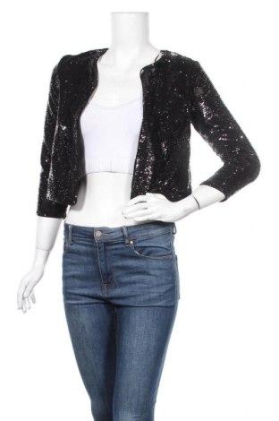 Γυναικείο σακάκι Miss Selfridge, Μέγεθος S, Χρώμα Μαύρο, Πολυεστέρας, Τιμή 40,11€