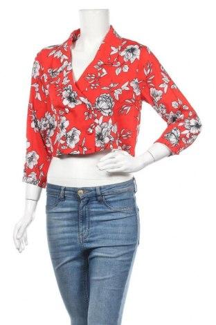 Γυναικείο σακάκι Missguided, Μέγεθος S, Χρώμα Κόκκινο, Πολυεστέρας, Τιμή 5,95€