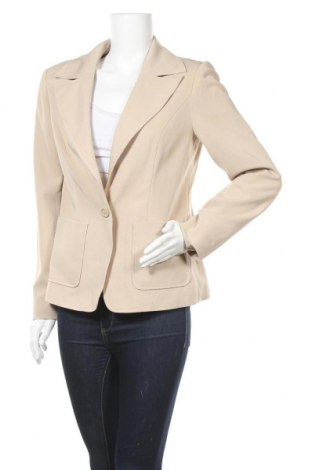 Дамско сако Modeszene, Размер M, Цвят Бежов, 95% полиестер, 5% еластан, Цена 7,00лв.
