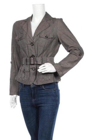 Γυναικείο σακάκι One Touch, Μέγεθος M, Χρώμα Καφέ, 66% βαμβάκι, 34% λινό, Τιμή 3,96€