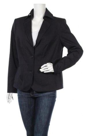 Γυναικείο σακάκι One Touch, Μέγεθος L, Χρώμα Μπλέ, 52% πολυουρεθάνης, 45% πολυεστέρας, 3% ελαστάνη, Τιμή 3,68€