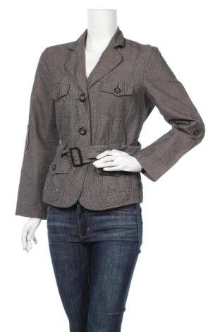 Γυναικείο σακάκι One Touch, Μέγεθος M, Χρώμα Γκρί, 66% βαμβάκι, 34% λινό, Τιμή 3,55€