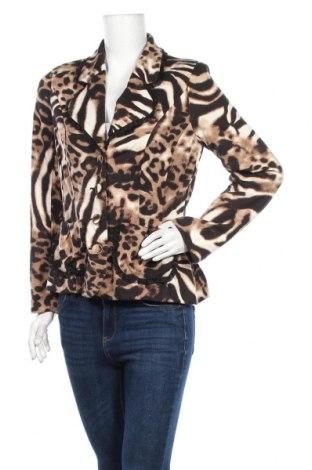 Дамско сако Pompoos Design By Harald Gloockler, Размер M, Цвят Многоцветен, 95% полиестер, 5% еластан, Цена 9,98лв.