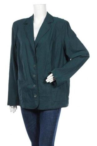 Γυναικείο σακάκι Sallie Sahne, Μέγεθος XL, Χρώμα Πράσινο, 62% βισκόζη, 34% πολυαμίδη, 4% ελαστάνη, Τιμή 34,95€
