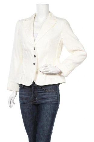 Дамско сако Strenesse Blue, Размер L, Цвят Бял, 76% лен, 24% памук, Цена 29,93лв.