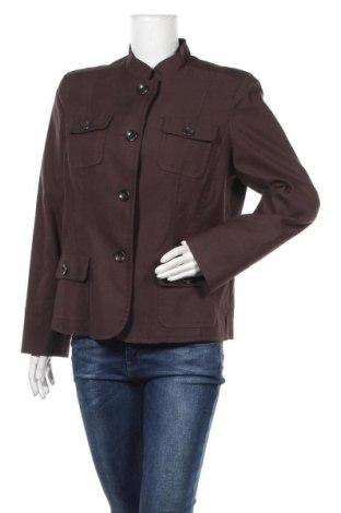 Γυναικείο σακάκι Style & Co, Μέγεθος L, Χρώμα Καφέ, 61% βαμβάκι, 34% πολυεστέρας, 5% ελαστάνη, Τιμή 5,91€