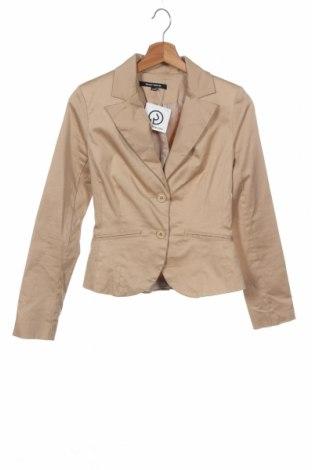 Дамско сако Tally Weijl, Размер XS, Цвят Бежов, 97% памук, 3% еластан, Цена 3,82лв.